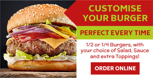 Customise your Burger