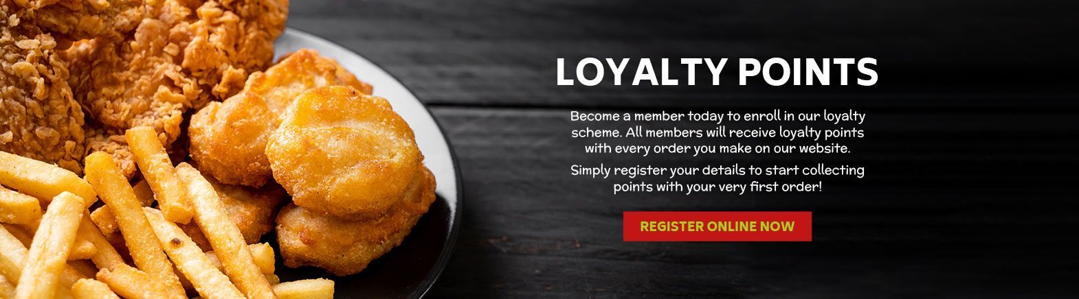 Earn Loyalty Points with Chicken Express